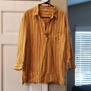 Old Navy Fall 2019 linen blouse - needs ironed!
